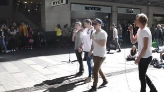 Selfish Girls -Jake Miller (Cover) by Pitt Boys Live @ Pitt St Mall 29 August 2015