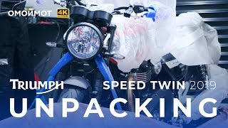 Triumph Speed Twin 2019 UNPACKING | Омоймот