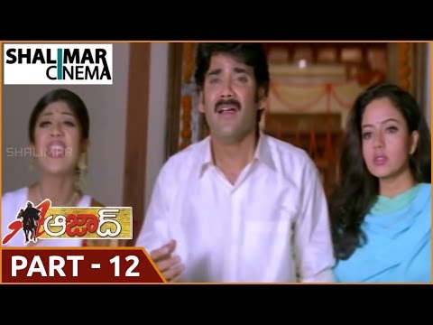 Azad Telugu Movie Part 12/13 || Nagarjuna , Soundarya || Shalimarcinema