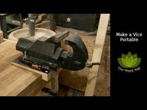 Portable Metalworking - Machinist Vice / Vise Hack for Woodworking