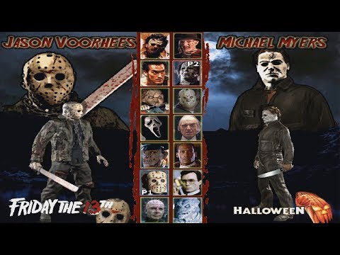 Jason Voorhees VS Michael Myers - Who will win?! (+Terrordrome Full Jason Playthrough)