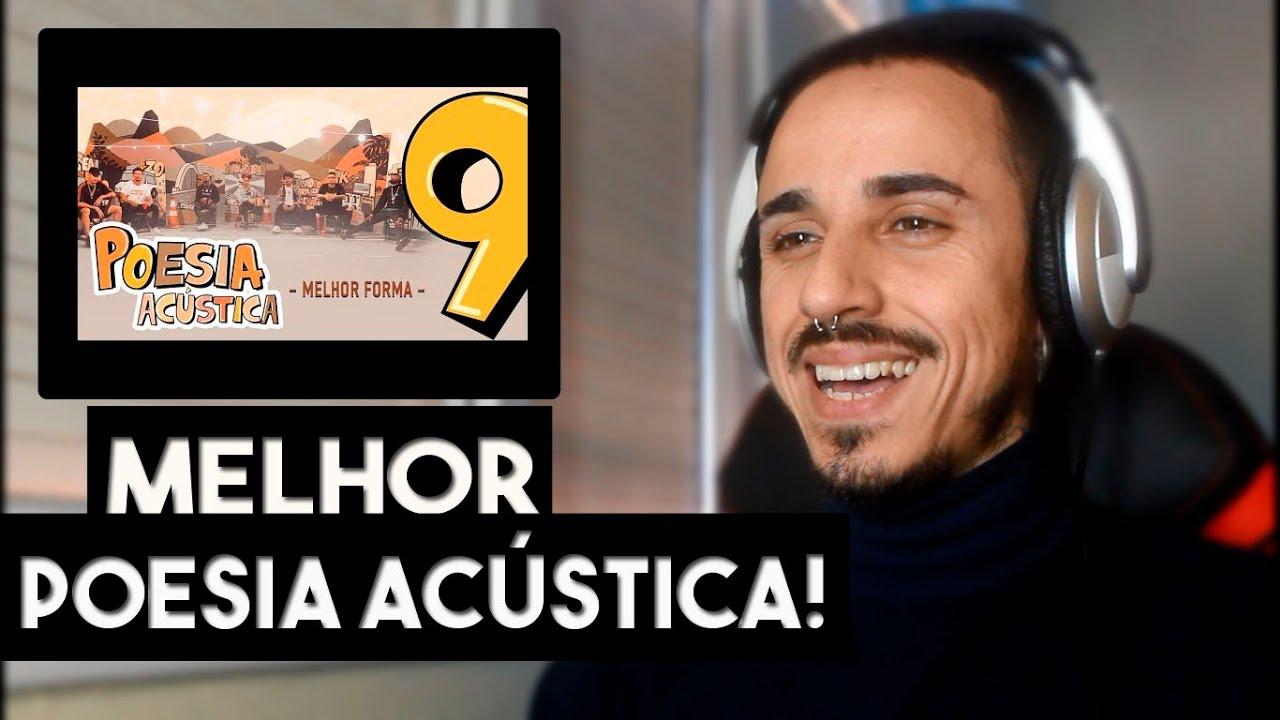 Poesia Acústica #9  L7NNON | CHRIS | Xamã | Lourena | Cesar Mc | Djonga | Filipe Ret / REACT GRANAMC