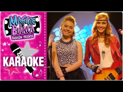 Maggie & Bianca Fashion Friends | Here we are KARAOKE 🎤
