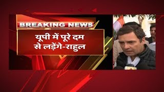 Rahul Gandhi On Priyanka Gandhi's Entry In Politics: I' m Happy That She Will Work With Me Now| ABP