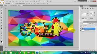 cara membuat nomor start balap di photoshop cs5 #2