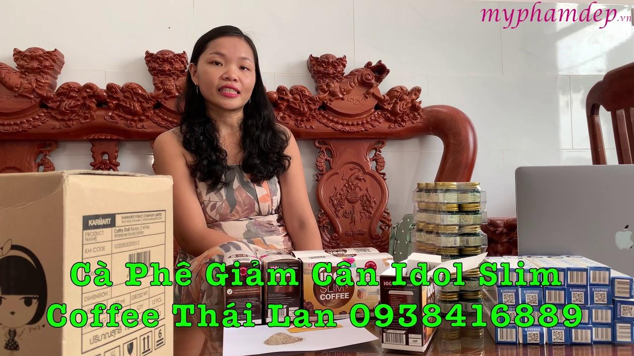 Cà Phê Giảm Cân Idol Slim Coffee Thái Lan Chính Hãng - 250k - 0938416889