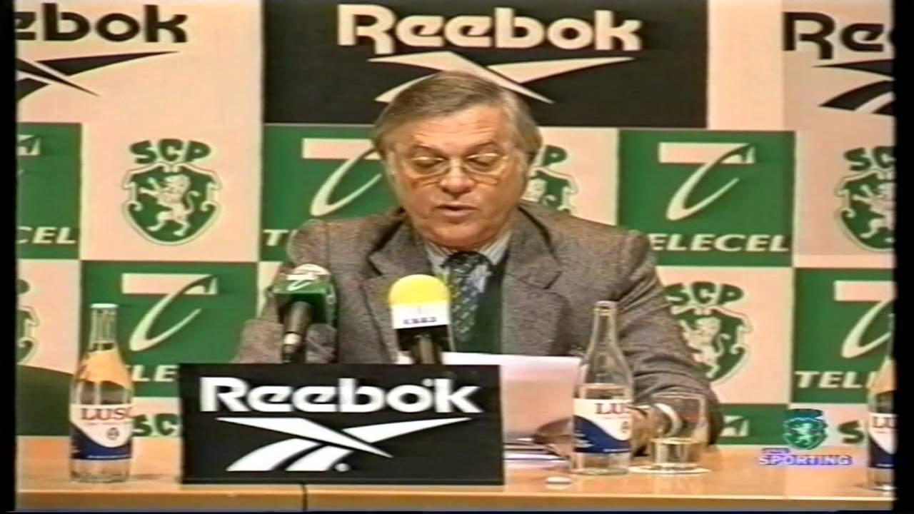 Sporting :: Comunicação sobre a arbitragem por Simões de Almeida em 06/01/1999.