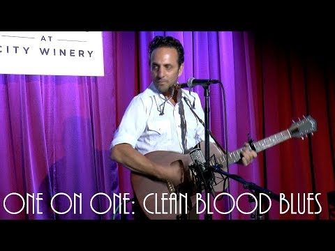 Cellar Sessions: Ike Reilly - Clean Blood Blues June 25th, 2018 The Loft at City Winery New York