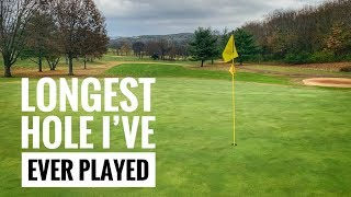 Cross-Country Challenge (Longest hole I've ever played)