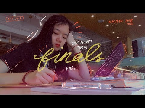 ⏳???? GHOSTS OF FINALS PAST: Act 1 (uni vlog) | clahrah