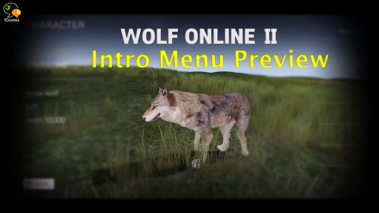 Preview] Wolf Online 2 Game Intro Menu - YouTube