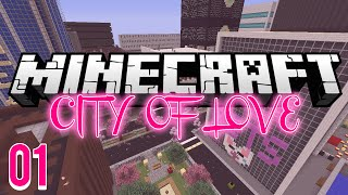 The City of Love (Minecraft Dating Simulator): Episode 1 - Cat Lady!!