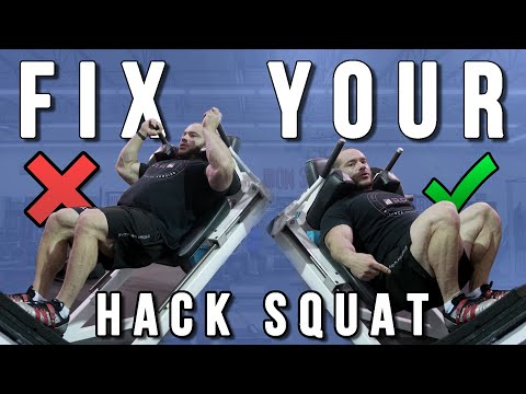 9 Hack Squat Mistakes and How to Fix Them