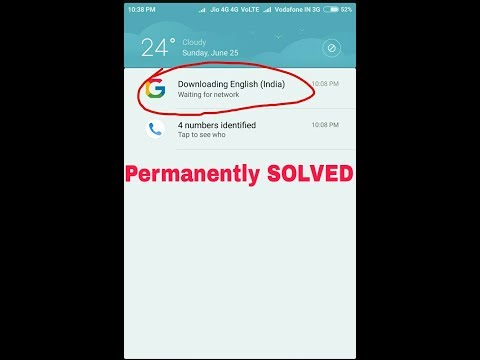 How To Permanently Stop Downloading English(India) Notification In Your Android Phone In Just Few Se