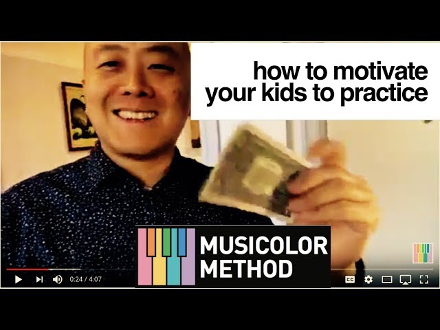 How To Quickly and Easily Motivate Your Kids To Practice