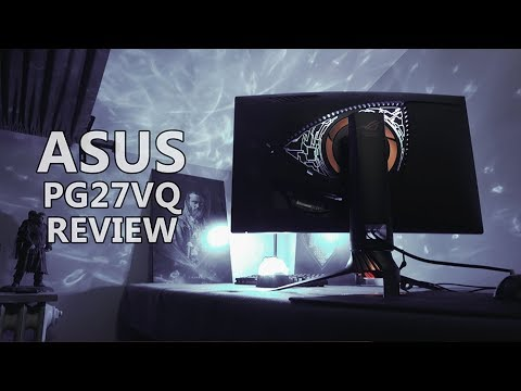 Asus PG27VQ Review: 165Hz 1440p Gaming Monitor with G-Sync