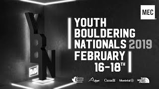 Climbing Escalade Canada - Youth Boulder Nationals [Youth B/C Finals]