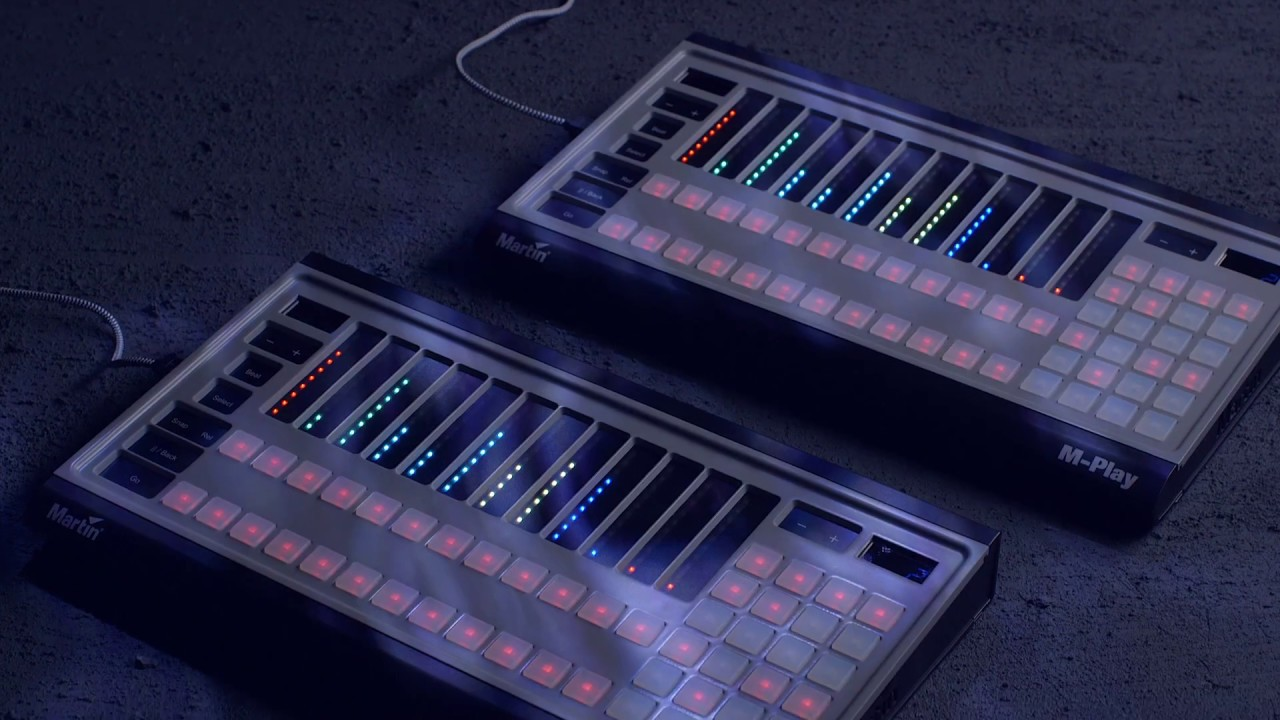 M Play Touch Lighting Controllers