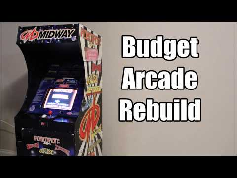 $5 Arcade Build - Saving a Vintage Arcade Cabinet From the Dumpster