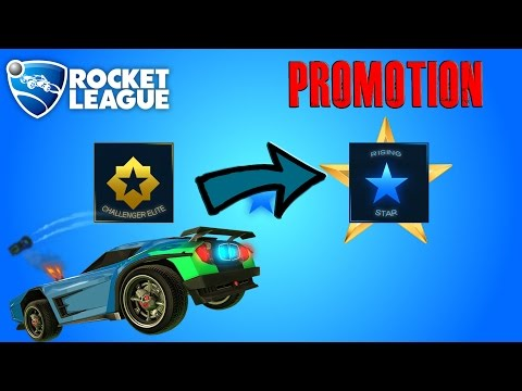 Journey: Getting Promoted To RISING STAR! [Rocket League]