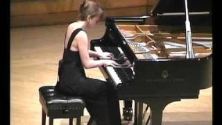 Beethoven Sonata №31 op. 110 2nd & 3rd movements (Polina Bogdanova)