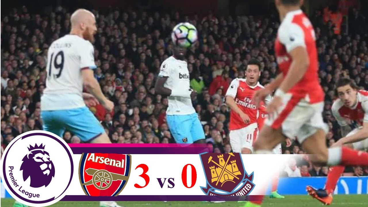 Download ARSENAL vs WEST HAM UNITED 3-0 Amazing All Goal 6-4-2017 HIGHLIGHTS LEAGUE PREMIER INGGRIS