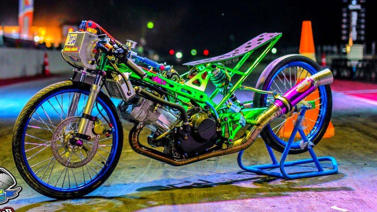 100 Gambar Orang Drag Motor Terlihat Keren
