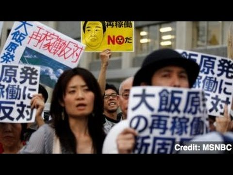 Japan Restarts First Nuclear Reactors Since Fukushima Crisis