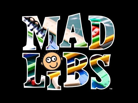 FUNNIEST MAD LIBS EVER!!!! (BACK TO SCHOOL!!)