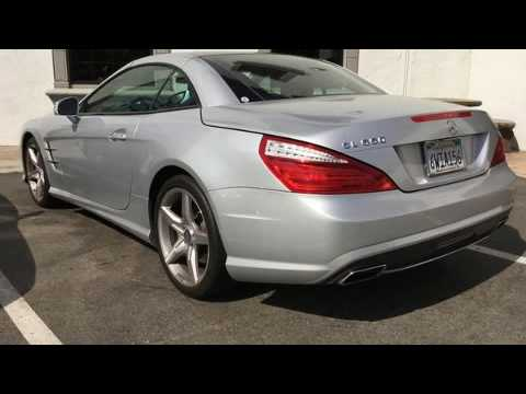 2013 Mercedes Benz SL Class SL550 In Escondido, CA 92025