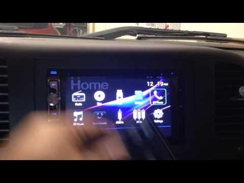 2012 GMC Sierra. Dual Dv526bt. Double Din Touchscreen. Bluetooth