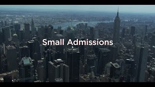 SMALL ADMISSIONS Book Trailer