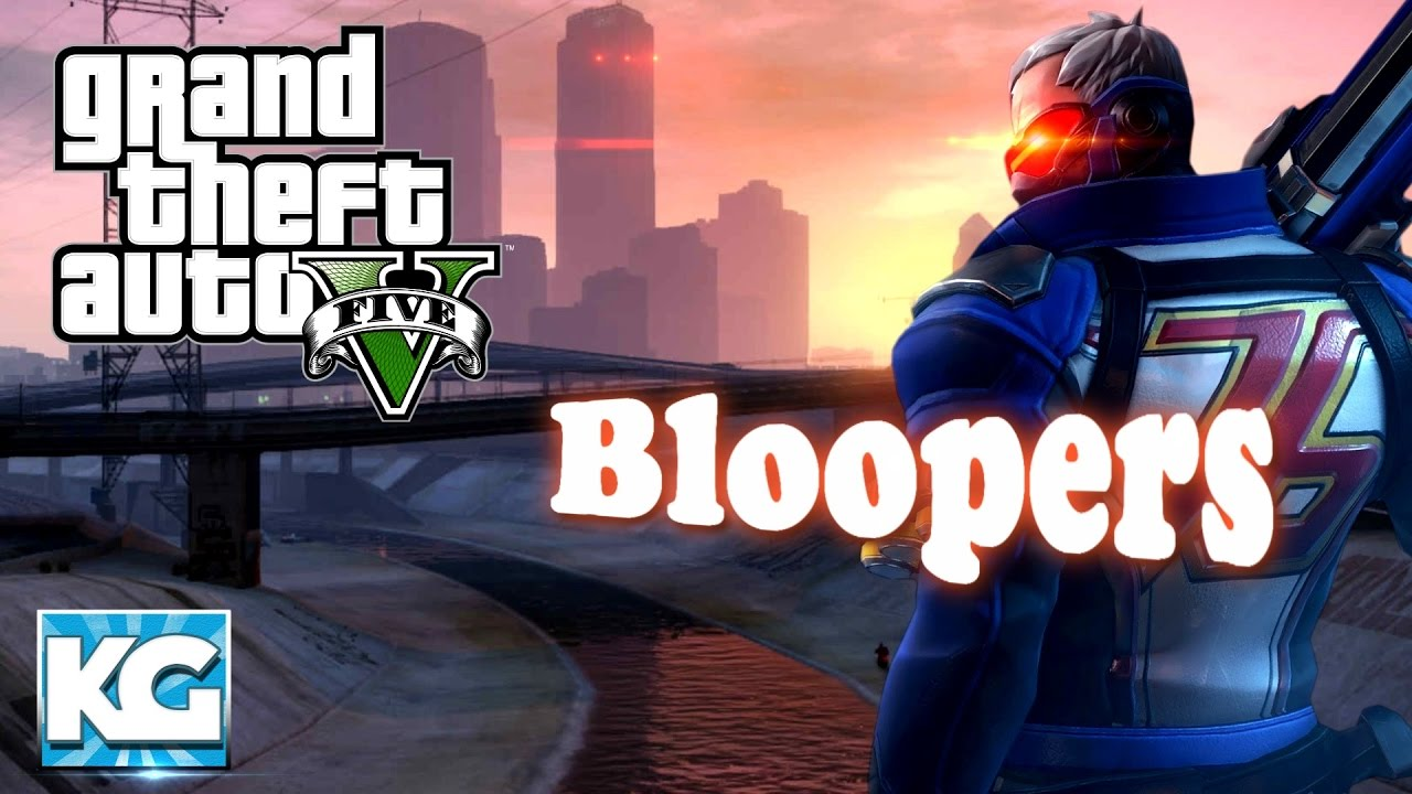 Soldier 76 Plays Gta 5 Bloopers - Behind The Scenes Gta 5 Funny Moments - Youtube-3881