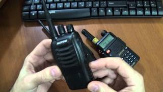 Інверсійний скремблер в радіостанції Baofeng BF-888s
