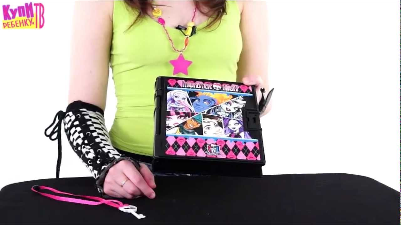 Ever After High Secret Hearts Diary~ обзор на русском - YouTube
