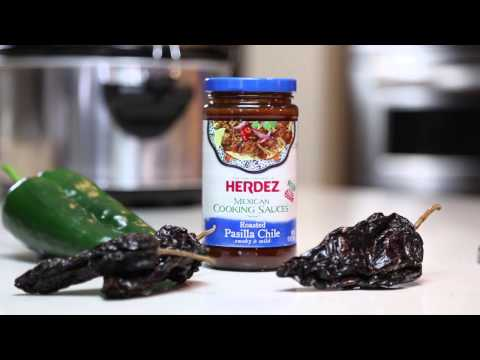 HERDEZ® Brand & AllRecipes® Roasted Pasilla Pepper Chili Video Recipe Travel Video