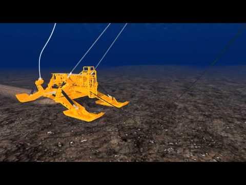 Installation Animation - Undersea Fiber Optic Cable