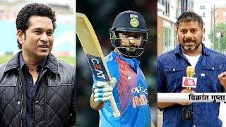 Aaj Tak Show: Sachin Tendulkar ने कहा Rohit 100 से 200 के बीच अलग मोड में होते हैं