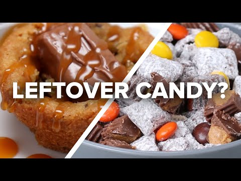 5 Ways To Use Up Leftover Halloween Candy