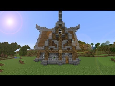 Minecraft Nordic House Tutorial Youtube