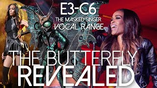 The Masked Singer: The Butterfly's EPIC Vocal Range [E3-C6]