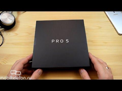 Распаковка Meizu Pro 5 4/64 ГБ и обновление до Flyme 5 OS (unboxing)