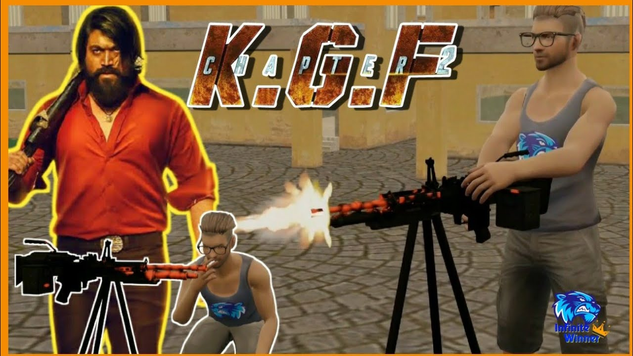 K.G.F 2 animation | kgf in adam version | Infinite Winner