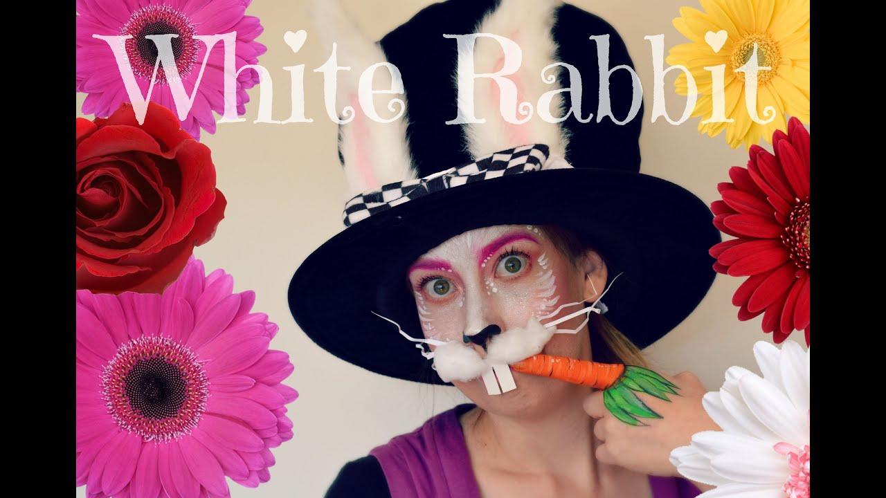 Alice in Wonderland | White Rabbit| Halloween - YouTube