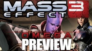 Mass Effect 3 Omega Gameplay Preview - First Female Turian Nyreen - ME3 DLC Omega