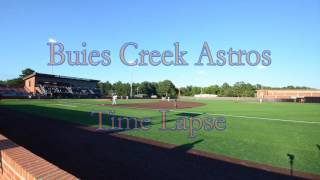 Time lapse from Jim Perry Stadium during a Buies Creek Astros Game