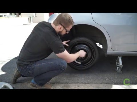 how to change a tyre youtube