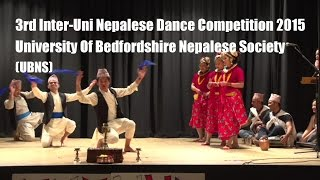 3rd Inter-Uni Nepalese Dance Competition 2015, University Of Bedfordshire Nepalese Society