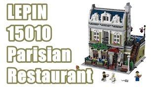Lepin 15010 Parisian Restaurant