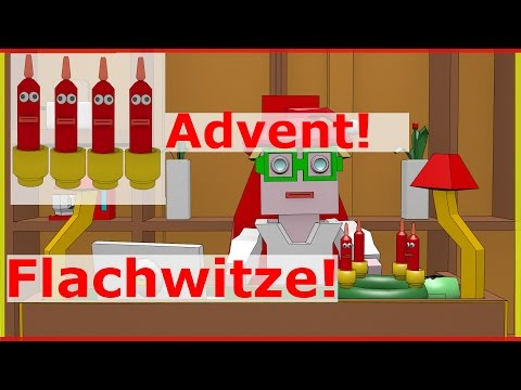 Lustiges Advent Video - Flachwitze mit Kerzen
